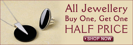 Buy One Get One Half Price on Jewellery